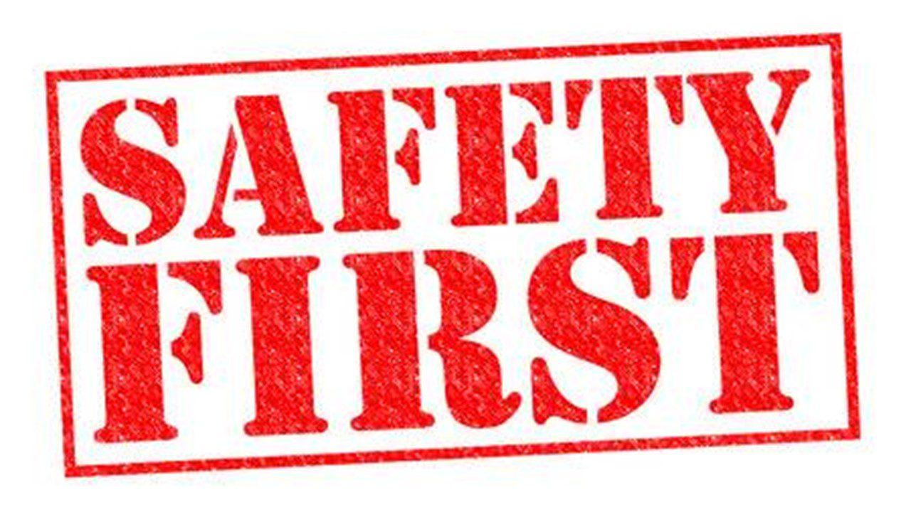 sikkerhed først